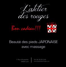 Beauté des pieds japonais massage