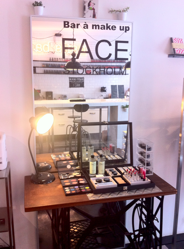 Ouverture du make up bar face stockholm l 39 atelier des rouges - L atelier des rouges ...