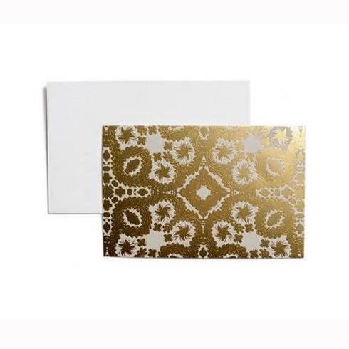 Coffret de 12 cartes or avec enveloppes christian lacroix - L atelier des rouges ...