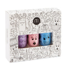 coffret 3 vernis à l'eau Nailmatic Kids