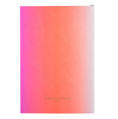 Cahier Neon Pink Christian Lacroix vendu à Lyon à L'atelier des Rouges