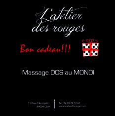 massage dos monoi