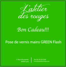 pose vernis green flash
