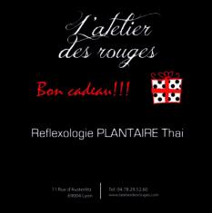 Reflexologie plantaire thai